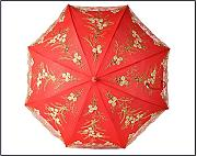 Sposa ombrello Wedding Ombrellone Red Umbrella