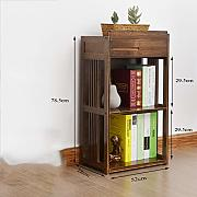 ssok shelf bambù Libreria scaffale Libro Display