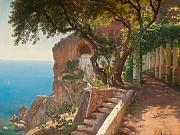 Stampa fine art – pergola in Amalfi by Selected Artworks, 48 x 36