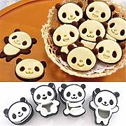 Stampo Forno Silicone 4Pcs / Set Panda Biscuit
