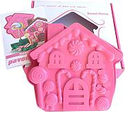 "Stampo in silicone ""Gingerbread House"","