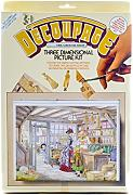 Stampo Master Grocer Shop-Kit per Decoupage,