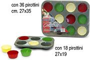 Stampo Muffin A&F  6Ps Stone C/Pir. C112649