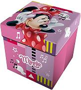 Star Licensing Disney Minnie Pouf Contenitore con