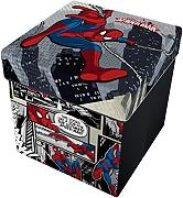 Star Licensing Marvel Spiderman Pouf Contenitore