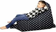 Stars – beanbag Squarbie Junior Navy Blue