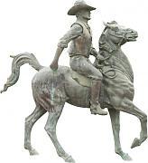 Rosso FLAMEER Statua Scultura in Ceramica di Mela