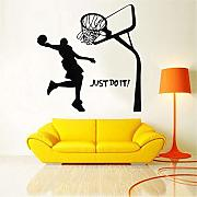 Suuyar Michael Jordan Basketball Player Wall