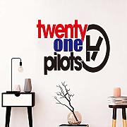 Suuyar Nuovo Design Twenty One Pilots Wall Sticker