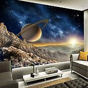 Syssyj Personalizzato Any Size Mural Wallpaper 3D