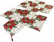 Table Runner Placemats Set for Christmas Holiday