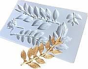 Tangpingsi Sugarcraft Leaf stampo in silicone