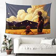 Tapestry Wall Hanging Decor, Anime Clannad Arazzi