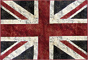 Tappeto bandiera inglese 160 x 230 cm LONDON