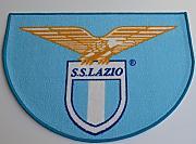 vivi casa Tappeto SCENDILETTO S.S Lazio Ufficiale Calcio Misura 57x75 cm Sagomato Celeste