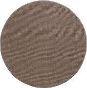 Tappeto Sisal con bordature Taupe ø 250 cm
