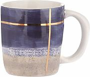 Tazza con decoro blu in ceramica, da 290 ml