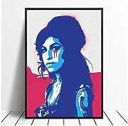 "Tchtshjdtb - Poster musicale""Amy Winehouse Hip"