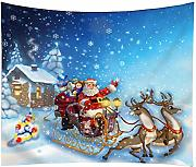 Tema Natale Wall Hanging Tapestry Poliestere