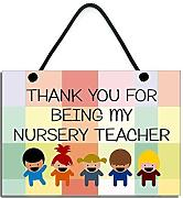Thank You For being My nursery Teacher Gift