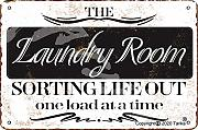 The Laundry Room Sorting Life Out 20 x 30 cm in