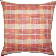 The Pillow Collection Quinto Plaid Cuscino di