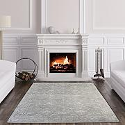 The Rug House Halcyon Tappeto Nordico Bianco