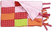 Thedecofactory Patchy Plaid, Poliestere, Rosa,