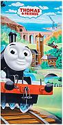 Thomas and Friends telo mare per bambini, trenino