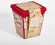 Thumbs Up! Contenitore per Cuocere Popcorn in Microonde, Silicone, Rosso