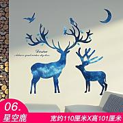 TIANLU Wall stickers più utile tendenza Home Town