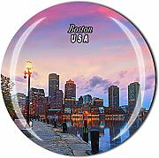 Time Traveler Go Boston USA 3D frigorifero magnete