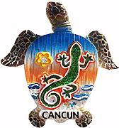 Time Traveler Go Cancun Mexico Animal Sea Turtle