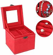 TMISHION Jewelry Storage Organizer,portagioie a 3