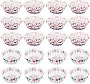 Tomaibaby 400 Pz Natale Cupcake Wrapper Artistico
