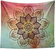 Tonpot mandala Tapestry Wall Decor rotonda Beach