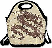 Tote Gourmet Dragon Art Extra Large Picnic Lunch