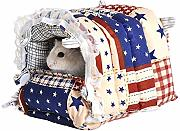 TOUYOUIOPNG Hammock Bed House for Rabbit Guinea
