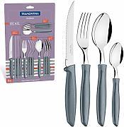 Tramontina 23498//916 Set di coltelli da cucina acciaio inossidabile