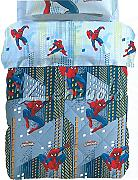 Trapunta invernale letto singolo SPIDERMAN SKY by