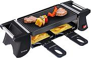 Trisa Set Racletto Duo per raclette, colore: nero,