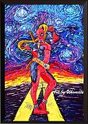 Uhomate donna Deadpool Wall Decor VINCENT Van Gogh
