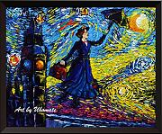 Uhomate Mary Poppins VINCENT Van Gogh Starry Night