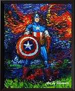 Uhomate supereroe Captain America Wall Decor