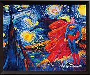 Uhomate supereroe VINCENT Van Gogh Starry Night