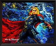 Uhomate Thor e martello di Thor Wall Decor VINCENT