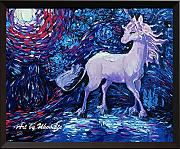 Uhomate Unicorn The Unicorns Wall Decor VINCENT