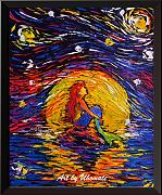 Uhomate VINCENT Van Gogh Starry Night manifesti