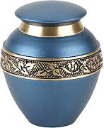 Urns UK, in Ottone, Modello Swindon, Blu