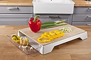 Vacu Vin 4685260 Cutting Board & Tray Tagliere con